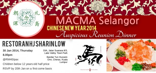 CNY Reunion - Invitation